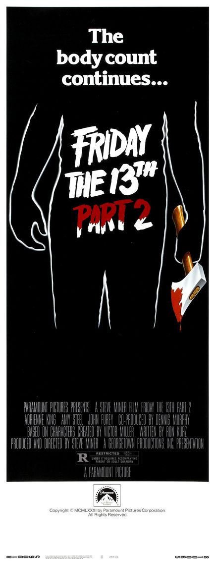 friday the 13th part 2 1981 1980s movie phreek