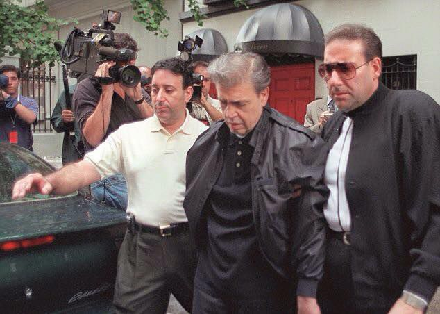 Vincent 'Chin' Gigante arrest, 1997, The Genovese Crime Family // Boss.