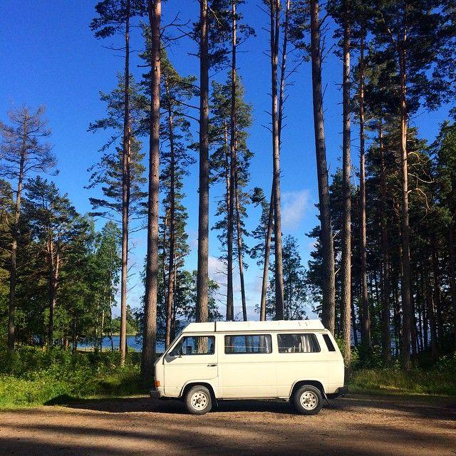 #getoutgetlost #westfalia #sweden #vanagon