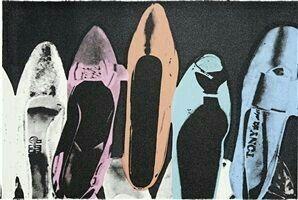 Andy Warhol ( Artist ), Diamond dust shoes , 1980