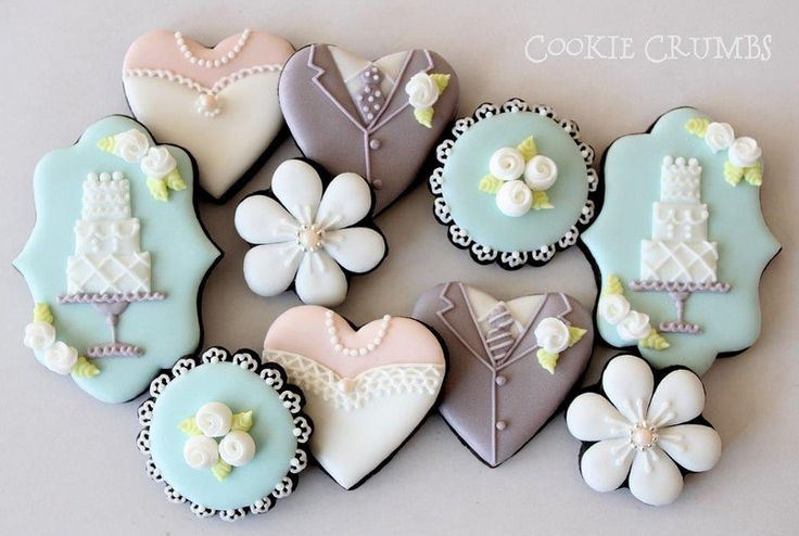 wedding cookies | Flickr - Photo Sharing!