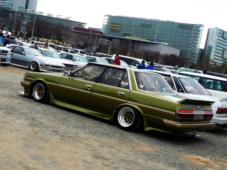 Toyota Cressida Bosozoku Style  #oldschooljdm #jdm #toyota #cressida #bosozoku #braggenrties