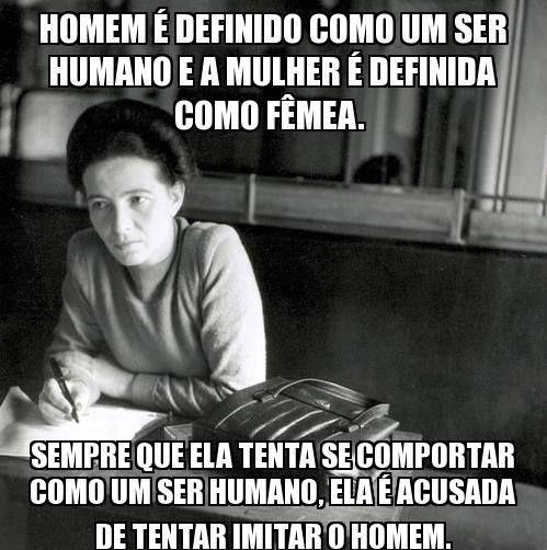 Hoje seria o 106° aniversário de Simone de Beauvoir. A escritora faleceu em 1986. Já suas palavras nunca estiveram tão vivas. Viva o Feminismo!