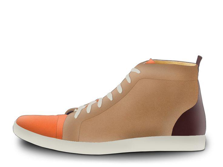 brown/orange