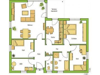 118 besten grundriss bilder auf pinterest grundriss bungalow bungalows und haus grundrisse. Black Bedroom Furniture Sets. Home Design Ideas