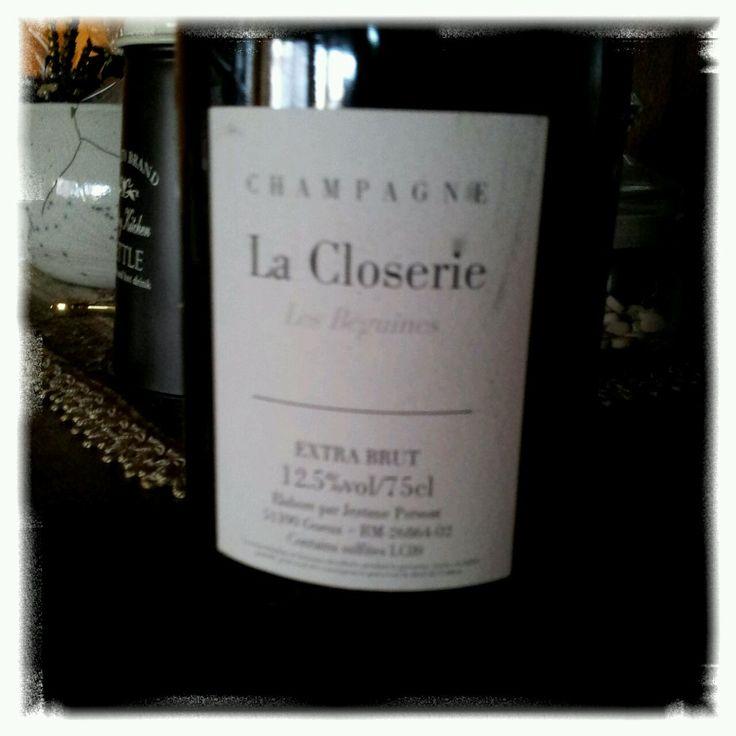 Champagne Jerome Prevost La Closerie Les Beguines Brut #champagne #wine #winelover