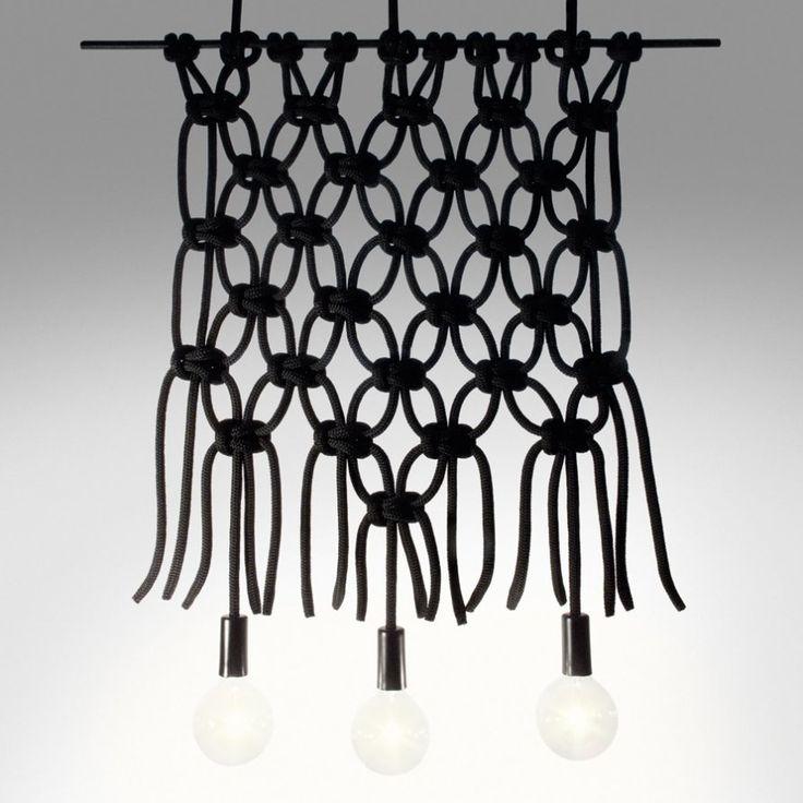 Macramé Light - custom design macramé feature | Lightly