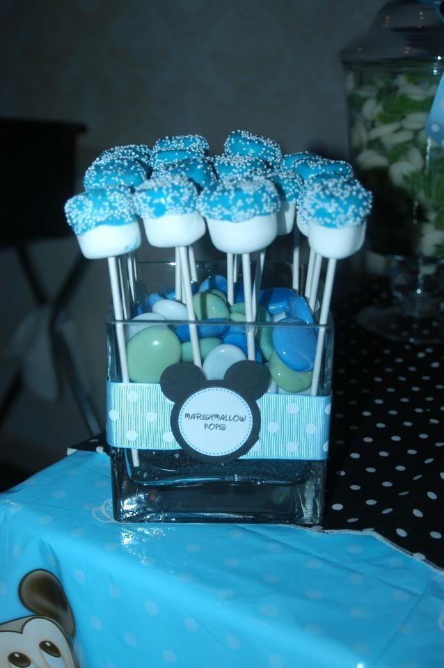Treat Me Sweet: Mickey Mouse 1st Birthday Dessert Table