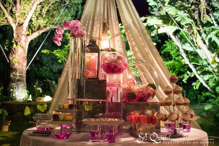 boda especial en jardin