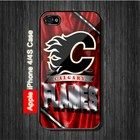 Calgary Flames NHL Sports iPhone 4, 4S Case Black Case #iPhone4 #iPhone4 #PhoneCase #iPhone4Case #iPhone4Case