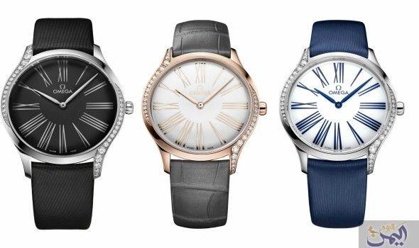 أوميغا تطرح ساعات فريدة للنساء تتميز بجمالها الأخاذ Watches Jaeger Watch Accessories