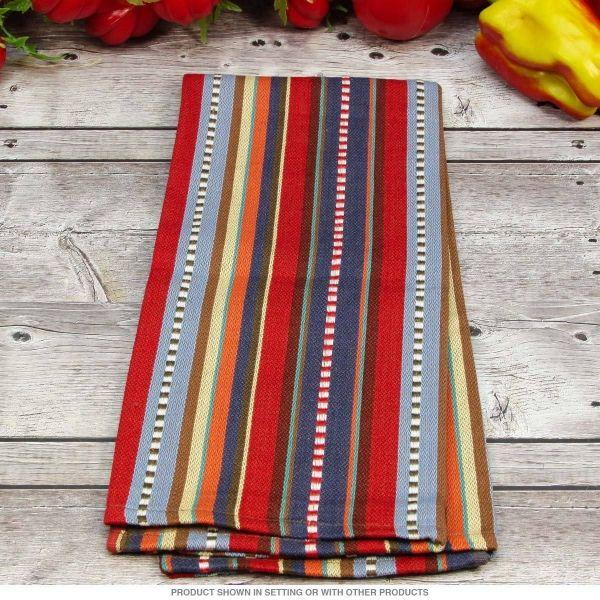 Country Western Stripes Kitchen Towel