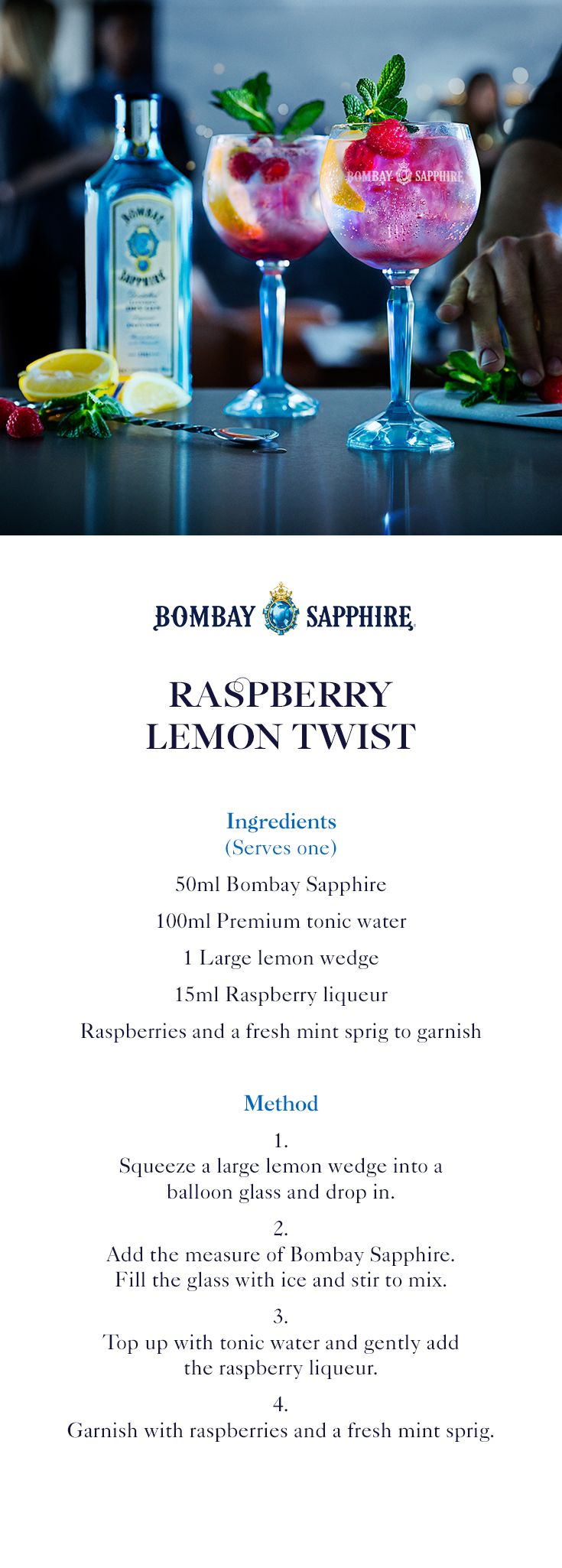 best 25  bombay sapphire ideas on pinterest