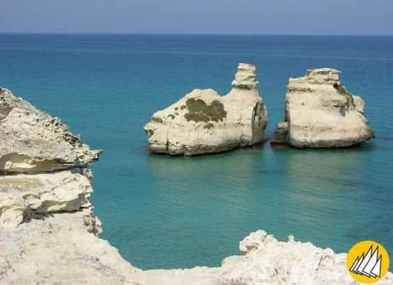 La spiaggia delle due sorelle - Torre dell'Orso - Melendugno (LE) premiata con le 5 vele