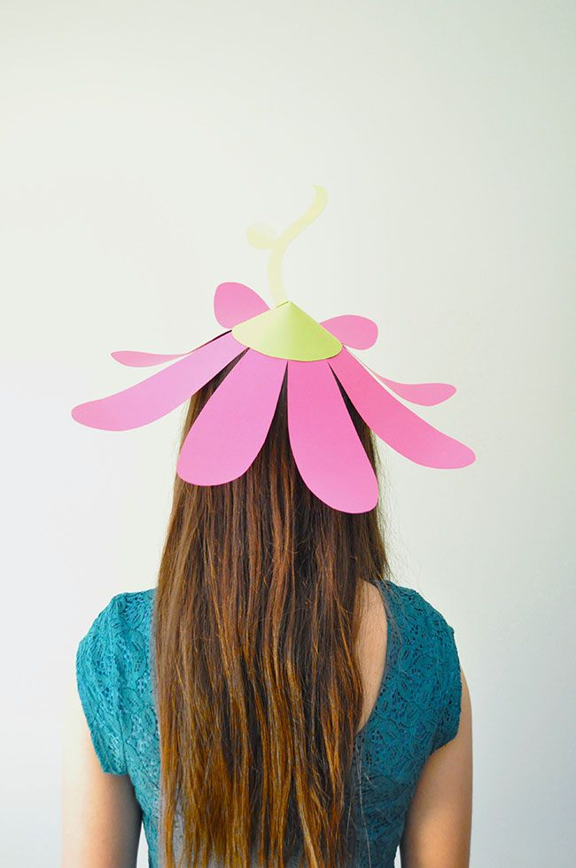 Snowdrop and Company: Paper Flower Party Hats