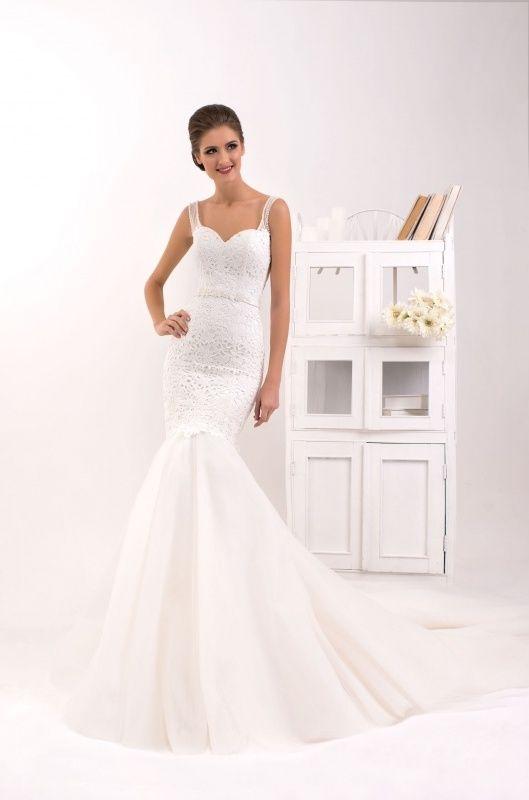 Svadobné šaty - morská panna