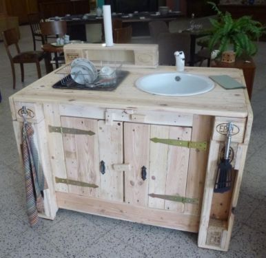 K chenblock sp le emaille upcycling m bel pinterest - Upcycling mobel ...