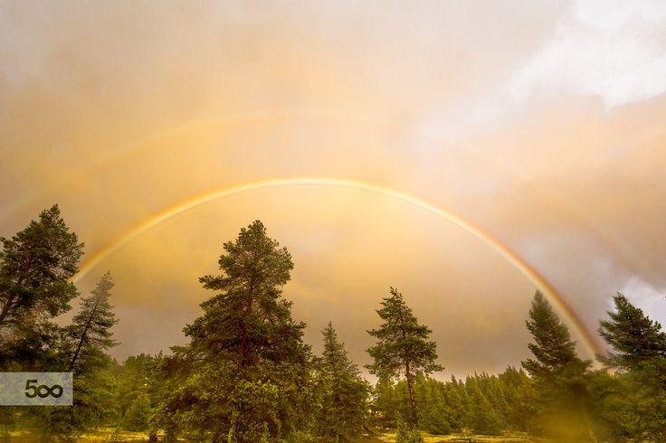 Rainbow by Markku Talvipuro on 500px