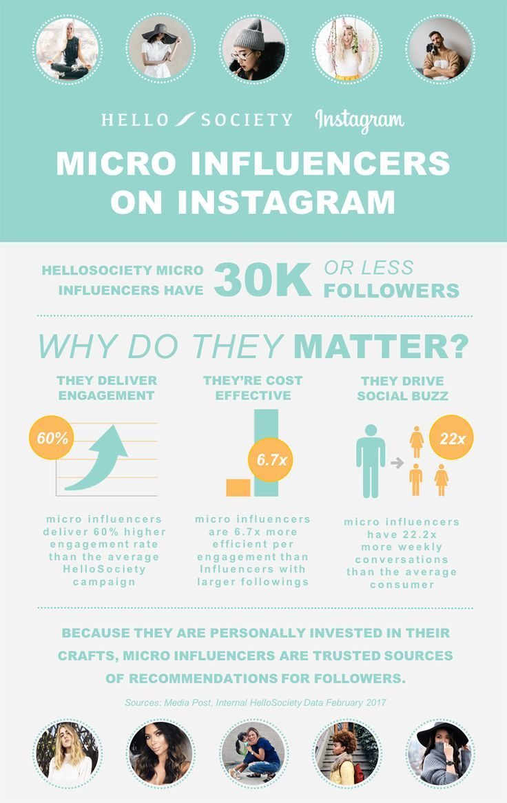 Micro influencers on instagram love a good success story