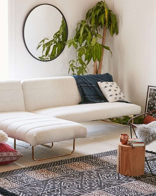 Use Mirrors | How To Decorate A Small Living Room: Big Ideas For Small Spaces