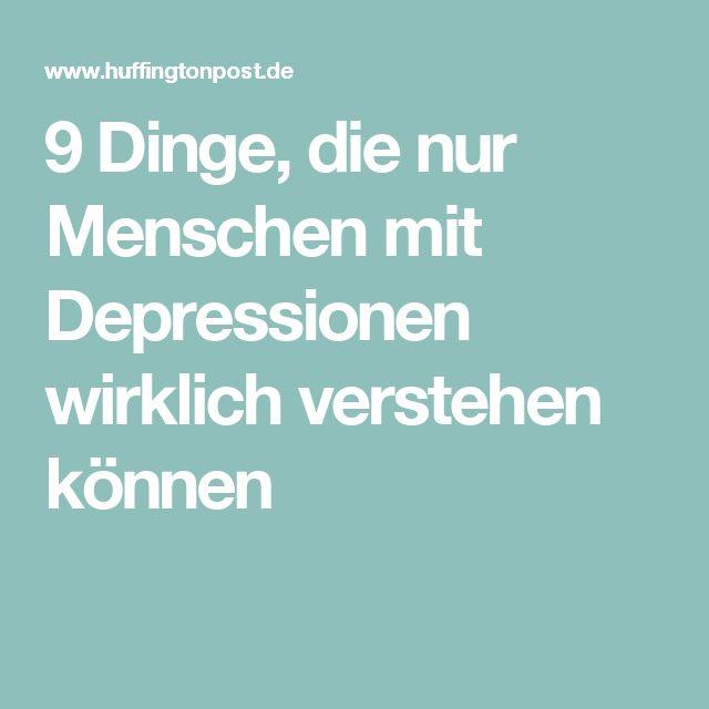 Menschen mit depressionen kennenlernen