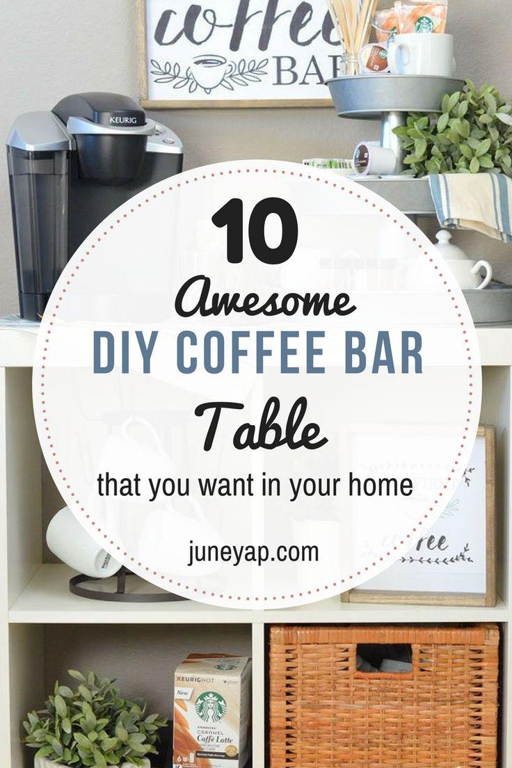 50 best Coffee Bar Decor Ideas images on Pinterest | Coffee bar ...