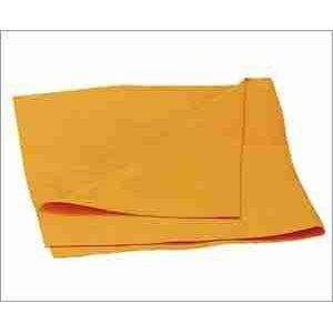 """$12 for a 6 Pack of Super Chamois ~ Large 20"""" X 27"""".  Personally, I go for the all-leather shammies, but lately they seem to be extremely thin.  These synthetic counterparts are much cheaper and still do the job.  What job specifically? When I travel, I like to throw everything into a single bag.  The same goes for my art equipment.  That means I don't have room for cases for some of the nicer metal items, which subsequently just get wrapped in these.  Problem solved."""
