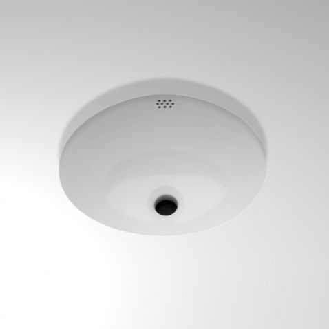 "Manchester Drop In or Undermount Oval Vitreous China Lavatory Sink 17 1/4"" x 14 1/2"" x 8"" — Products 