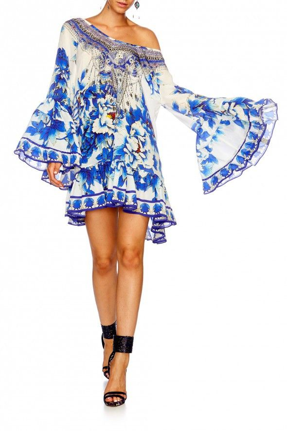 Camilla - Ring Of Roses / A Line Frill Dress