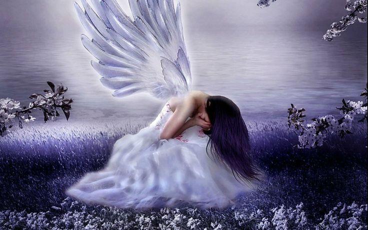 Sad Angel Wallpapers HD with High Resolution Wallpaper 1920x1200 px 308.61 KB Dreamy & Fantasy Sad
