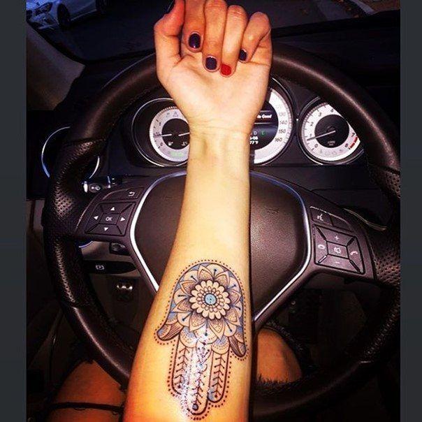 Hamsa tattoos