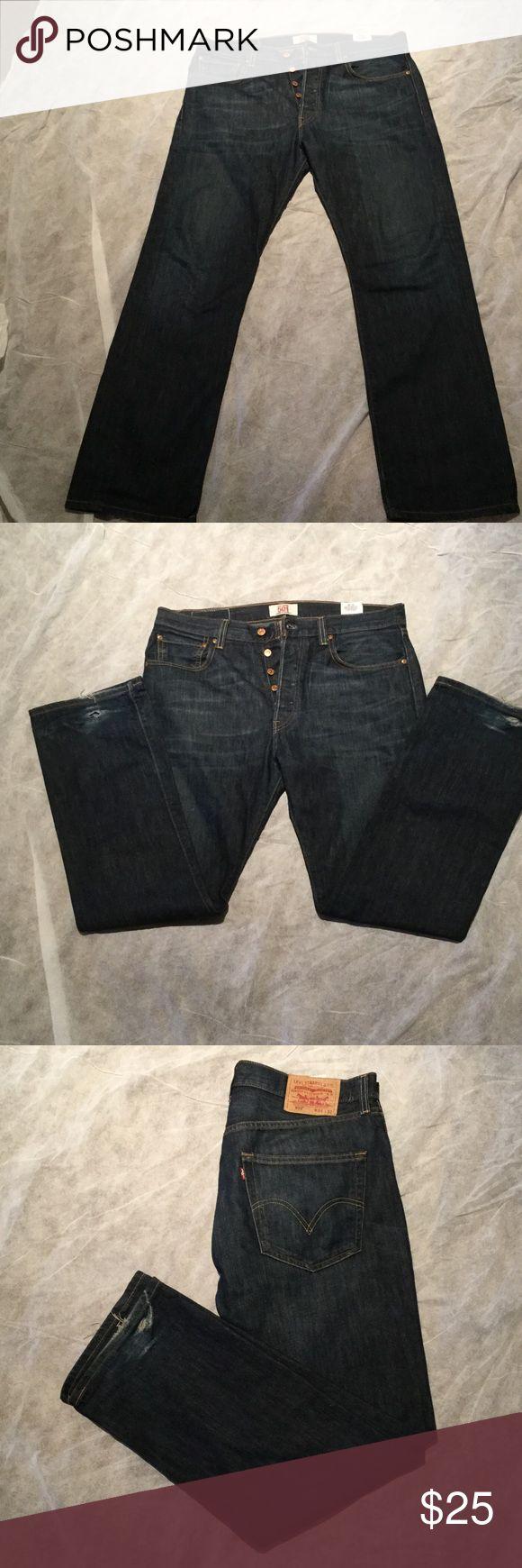 Levi 501 button fly vagabond jeans Vagabond Levi's 501 button fly jeans in awesome condition Levi's Jeans Bootcut
