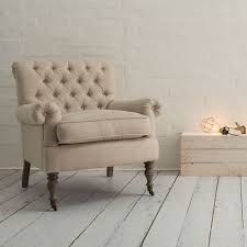 Image result for grey button back armchair