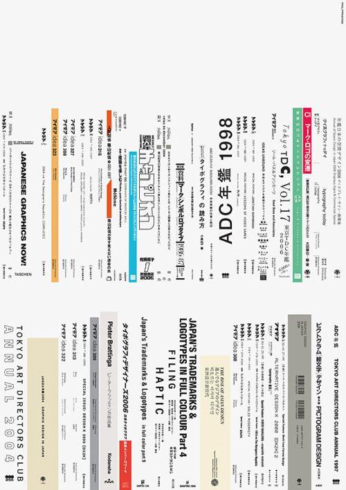 Poster: How Very Tokyo. Bibliotheque Design. 2009 - Gurafiku: Japanese Graphic Design
