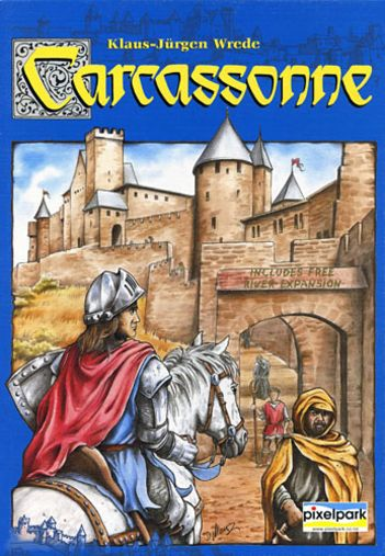 Carcassonne Board Game product photo