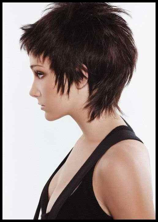 Shaggy Dark Pixie … | Hair Chi… | Frisuren Tutorials ...