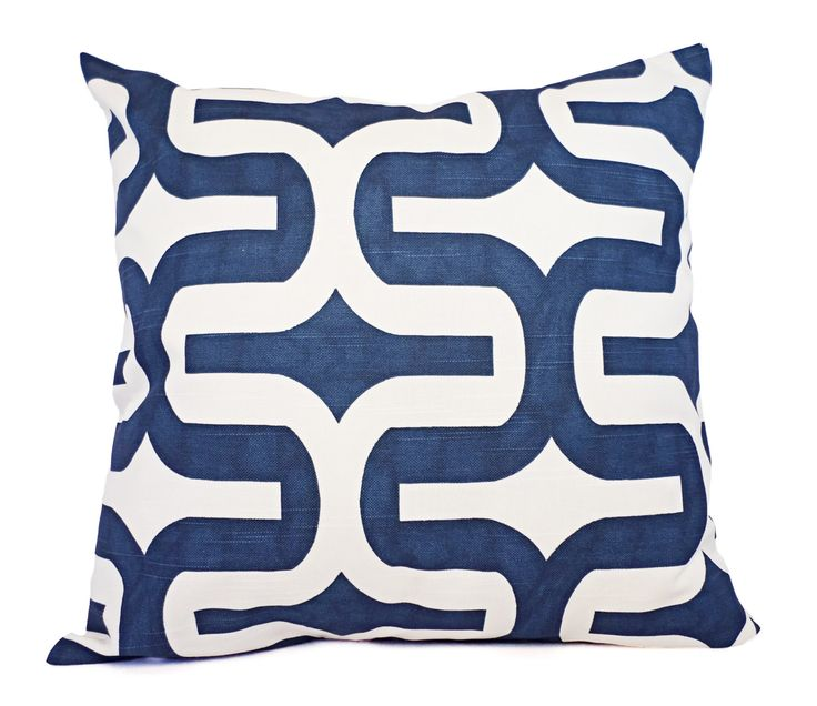 Navy Blue Decorative Pillow Covers : Two Navy Blue Pillow Covers - Navy Throw Pillow Covers - 20 x 20 Inch Pillow 12 x 18 Inch Pillow ...
