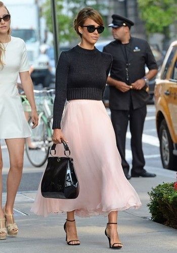 I love the colors.  The skirt is amazing.  I don't like the style of the top.