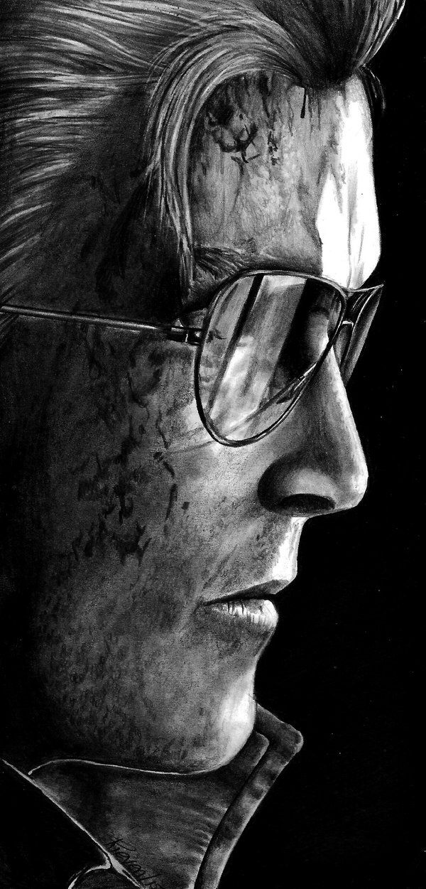 Kazuhira Miller - MGS V Drawing by Rieven on @DeviantArt