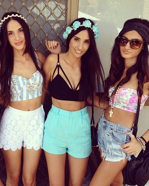 shorts to the right..I need for EDC!!! @Melissa Squires Marie