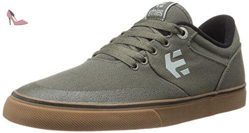 Etnies Scout Yb, Chaussures de Skateboard Homme, Bleu (Black/Blue/Grey), 38.5 EU (5.5 UK)