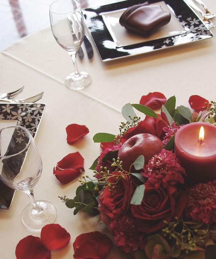PEU CONNU TABLE DE FLEURS #06