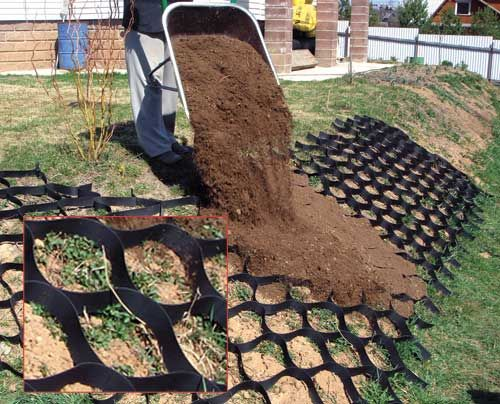 Best 25 erosion control ideas on pinterest living for Yard drainage slope
