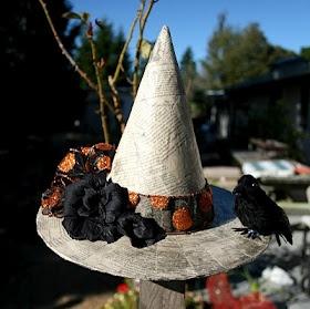 Paper Mâché Witch hat