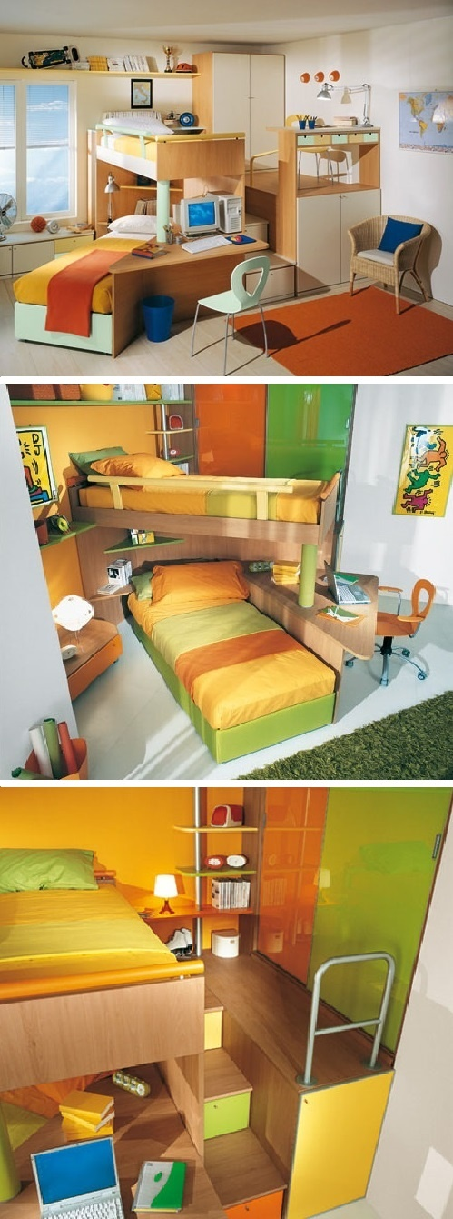 123 Best Creative Ideas For Shared Kids Room Images On Pinterest Children Home And Nursery