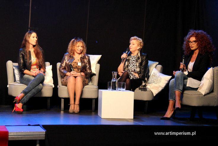 Kalina Ben Sira, Małgorzata Potocka, Krystyna Kofta i Eva Minge - Polski Businesswoman Kongres 2014. fot. Jola Michalak Art Imperium.