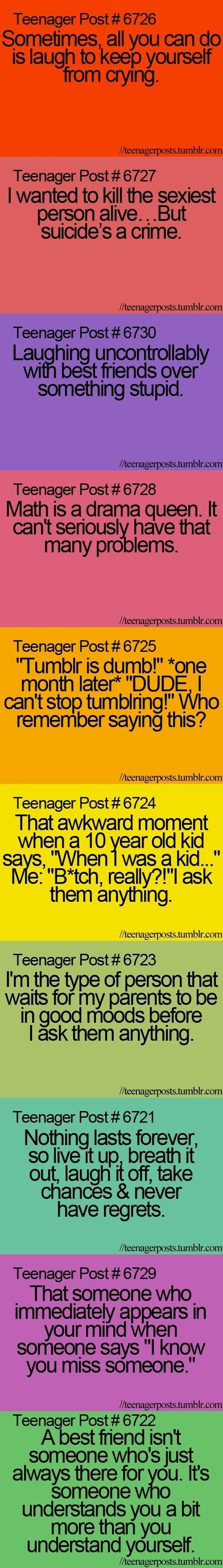 Teenager Posts - funny pictures / funny pics / lol /  #humor #funny #funnypictures #funnypics