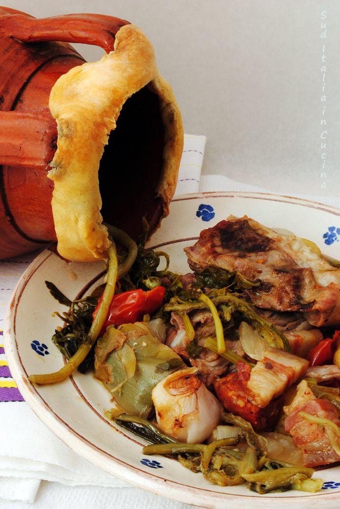 Cutturidd o Agnello alla Pignata - http://blog.giallozafferano.it/suditaliaincucina/agnello-pignata/