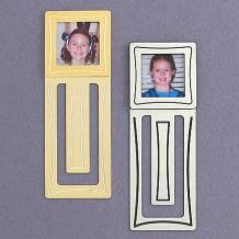Tim/Debbie/Ruthie Engraved Photo Frame Bookmarks For Books