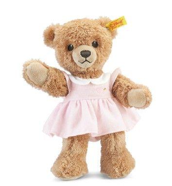 Steiff 239526 Sleep Well Bear Pink for Baby